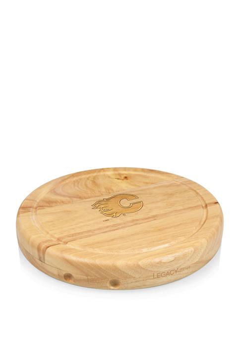 NHL Calgary Flames Circo Cheese Cutting Board & Tools Set
