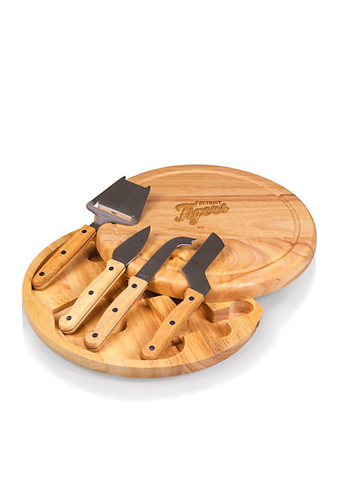 Detroit Tigers Circo Cheese Board and Tools Set