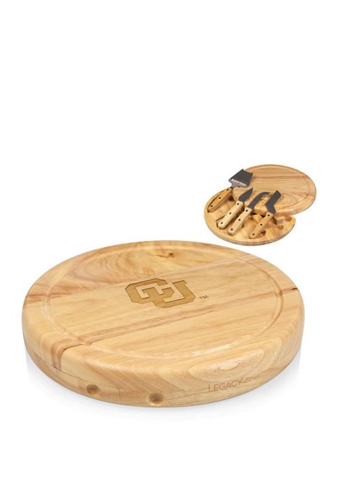 TOSCANA NCAA Colorado Buffaloes Circo Cheese Cutting Board