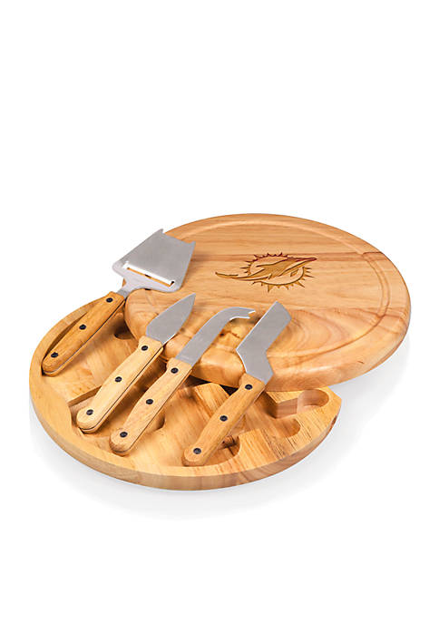 Picnic Time Miami Dolphins Circo Cheese Board and