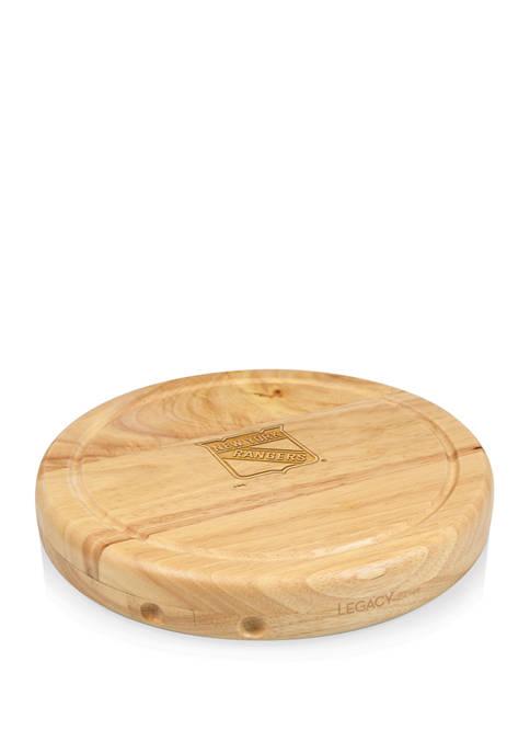 NHL New York Rangers Circo Cheese Cutting Board & Tools Set