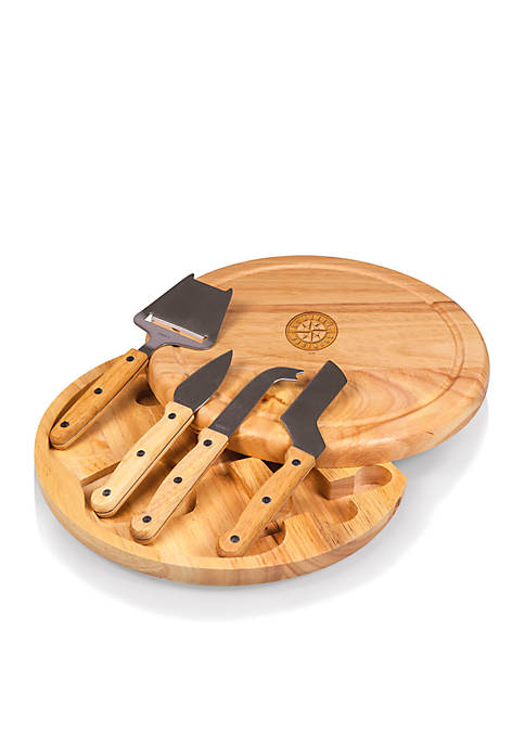 Picnic Time Seattle Mariners Circo Cheese Board and