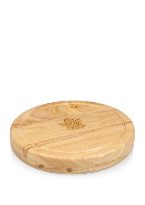 NHL Toronto Maple Leafs Circo Cheese Cutting Board & Tools Set