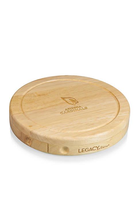 Arizona Cardinals Brie Cheese Board and Tools Set
