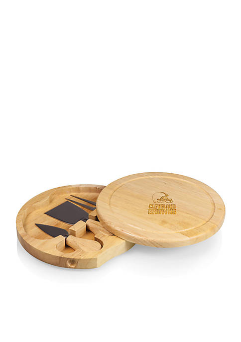 Cleveland Browns Brie Cheese Board and Tools Set