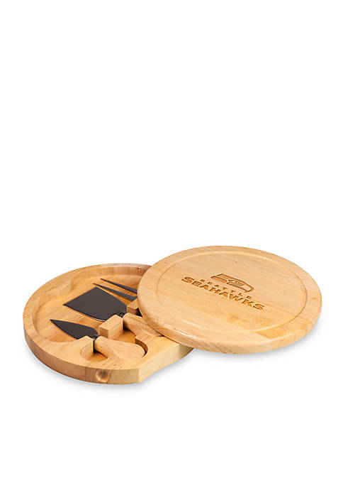 Picnic Time Seattle Seahawks Brie Cheese Board and