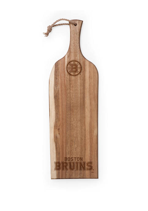 NHL Boston Bruins Artisan 24 Inch Acacia Serving Plank