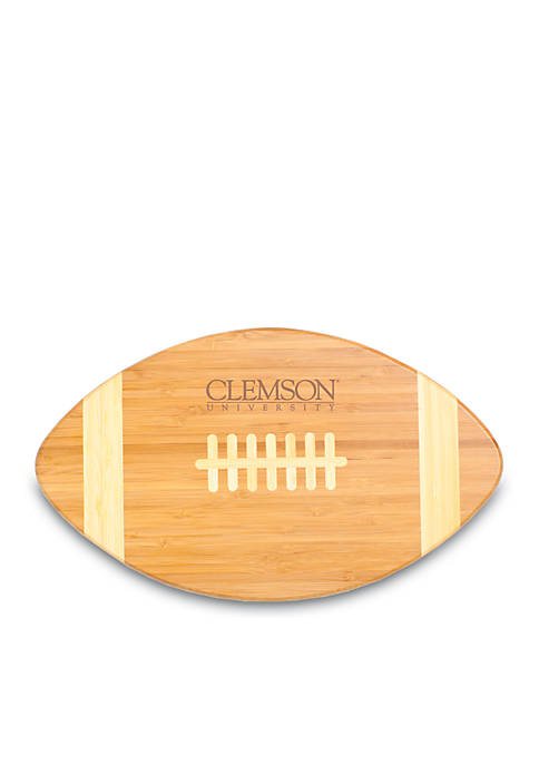 Clemson Tigers Tide Touchdown Bamboo Cutting Board