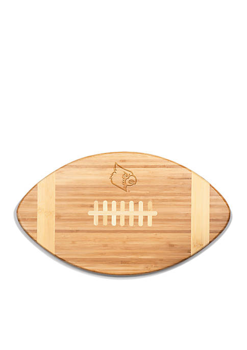 Louisville Cardinals Touchdown Pro Bamboo Cutting Board