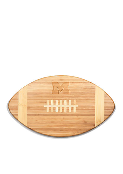 Picnic Time Michigan Wolverines Touchdown Pro Bamboo Cutting