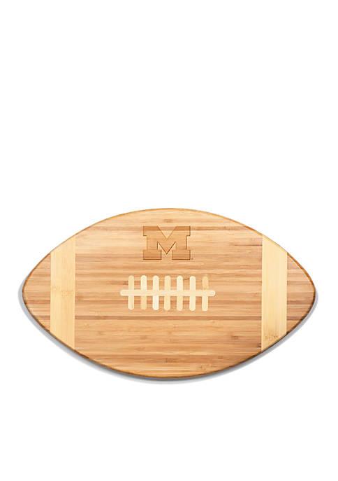 Michigan Wolverines Touchdown Pro Bamboo Cutting Board