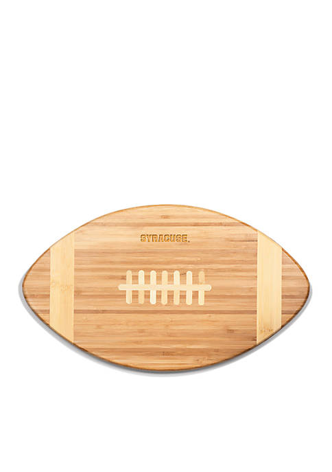 Picnic Time Syracuse Orange Touchdown Pro Bamboo Cutting