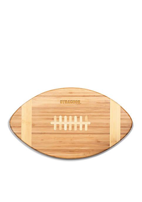 Syracuse Orange Touchdown Pro Bamboo Cutting Board