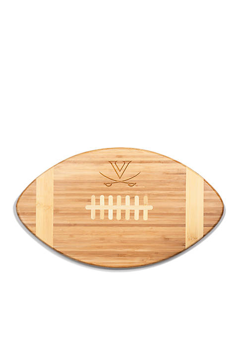 Virginia Cavaliers Touchdown Pro Bamboo Cutting Board