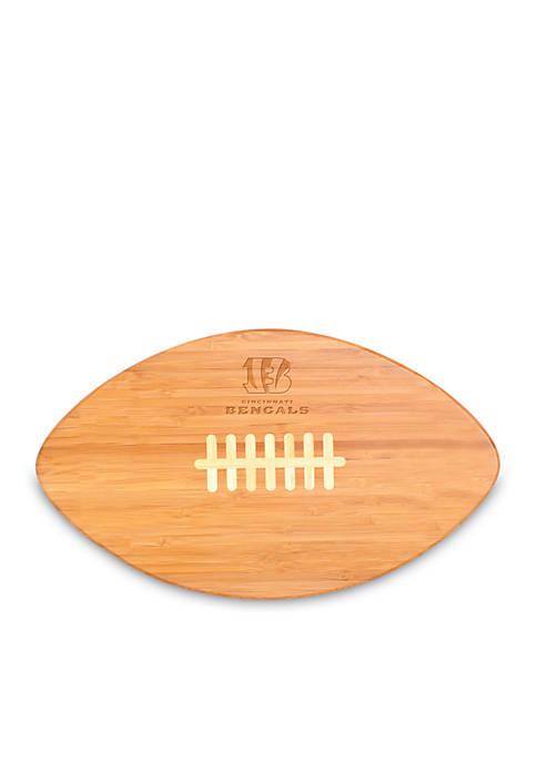 Picnic Time Cincinnati Bengals Touchdown Pro Bamboo Cutting
