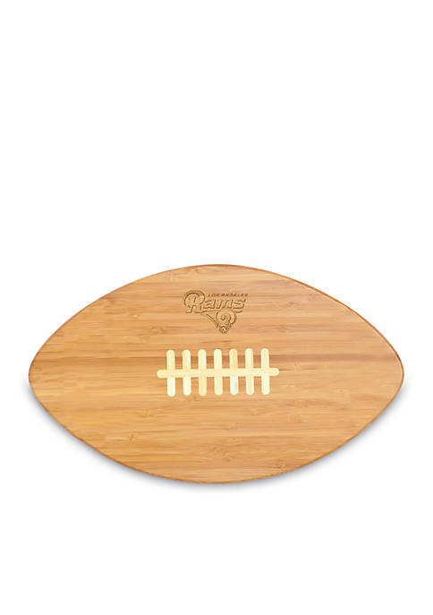 Picnic Time Los Angeles Rams Touchdown Bamboo Cutting