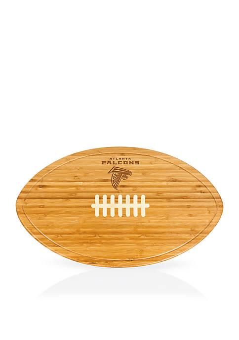 Picnic Time Atlanta Falcons Kickoff Bamboo Serving Tray