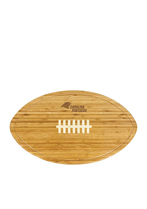 Picnic Time Carolina Panthers Kickoff Bamboo Serving Tray