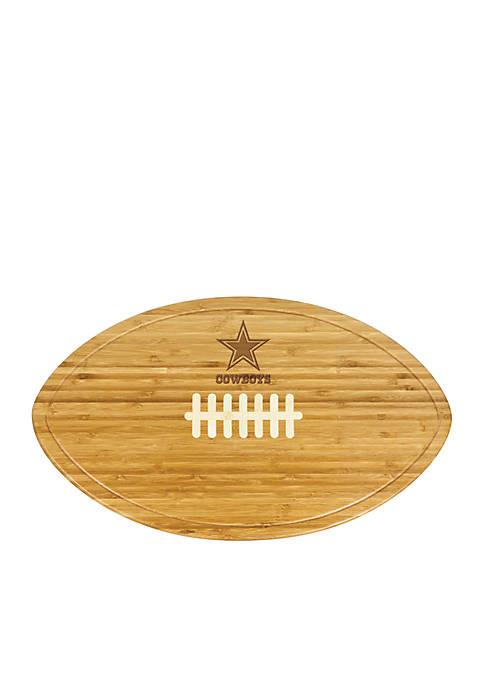 Picnic Time Dallas Cowboys Kickoff Bamboo Serving Tray