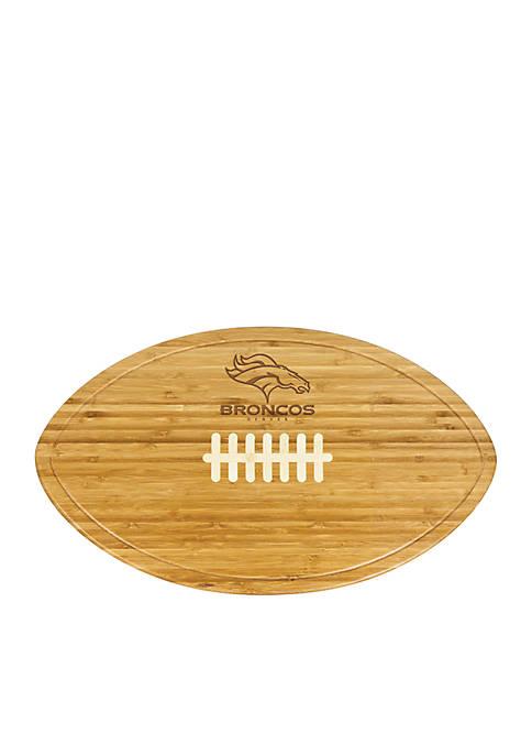 Picnic Time Denver Broncos Kickoff Bamboo Serving Tray