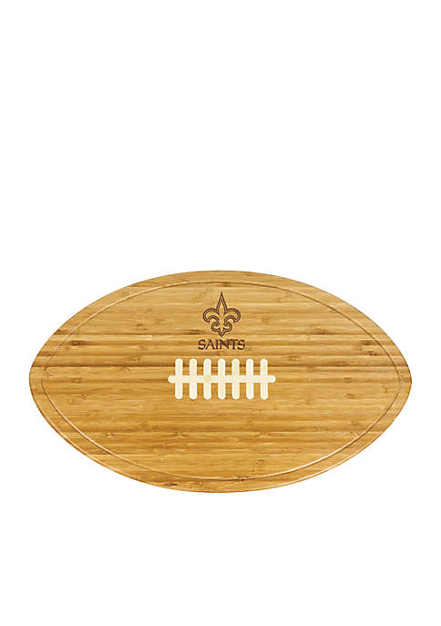 Picnic Time New Orleans Saints Kickoff Bamboo Serving