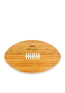 Seattle Seahawks Kickoff Bamboo Serving Tray