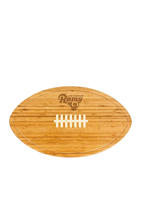 Picnic Time LA Rams Kickoff Bamboo Serving Tray
