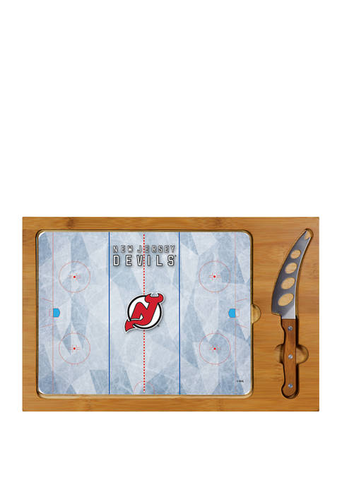 Picnic Time NHL New Jersey Devils Icon Glass