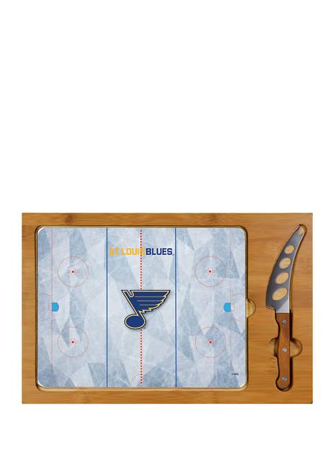 Picnic Time NHL St. Louis Blues Icon Glass