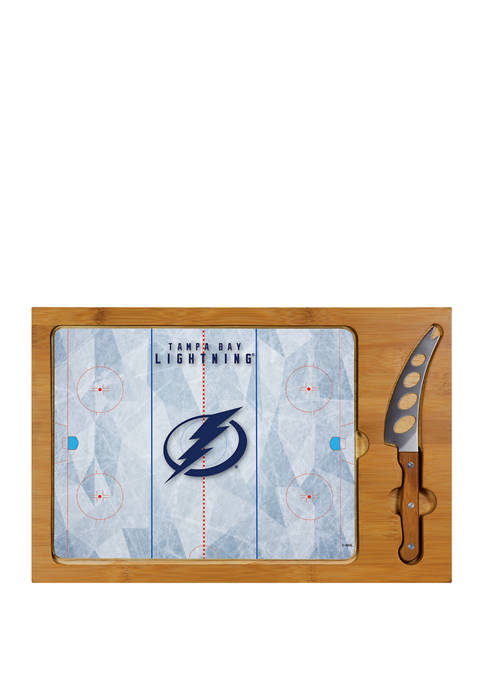 Picnic Time NHL Tampa Bay Lightning Icon Glass