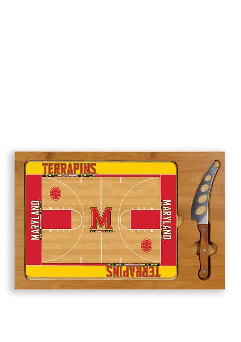 TOSCANA NCAA Maryland Terrapins Icon Glass Top Cutting