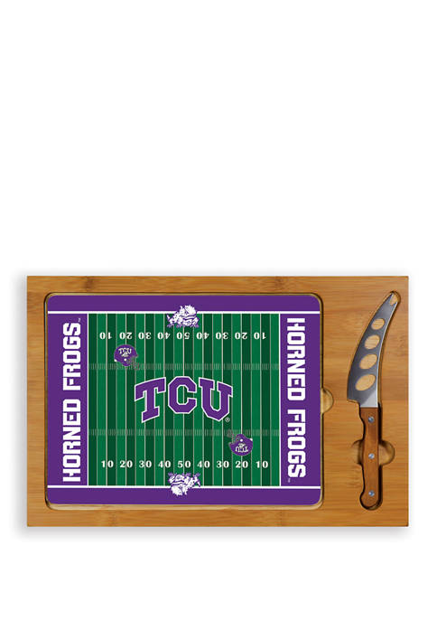 TOSCANA NCAA TCU Horned Frogs Icon Glass Top
