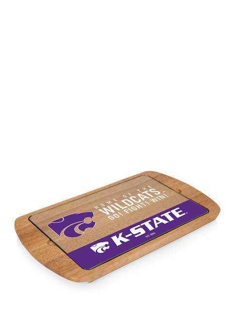 TOSCANA NCAA Kansas State Wildcats Billboard Glass Top