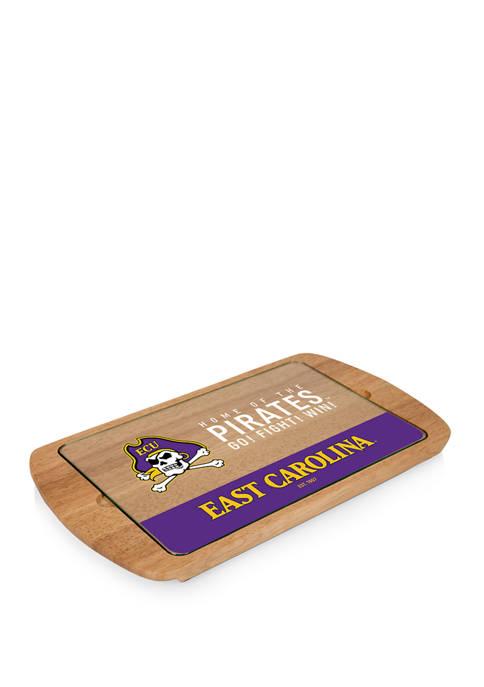 TOSCANA NCAA East Carolina Pirates Billboard Glass Top