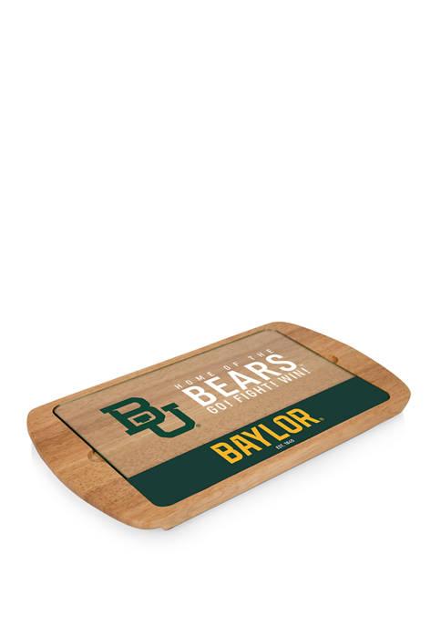 TOSCANA NCAA Baylor Bears Billboard Glass Top Serving