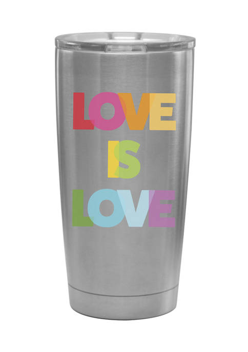 Culver® Pride Love Is Love Stainless Steel Insulated