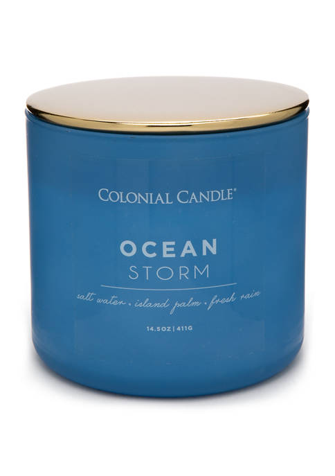 14.5 Ounce Pop of Color Candle - Ocean Storm