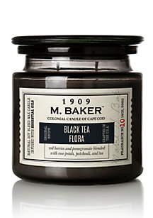 Carolina Candle 14 Ounce M. Baker Apothecary Candle - Black Tea Flora