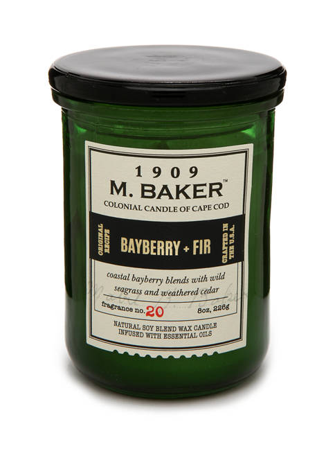 Colonial Candle® 8 Ounce M. Baker Apothecary Candle
