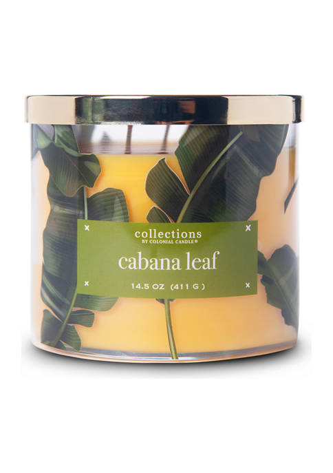 Colonial Candle® Cabana Leaf 14.5 Ounce Candle