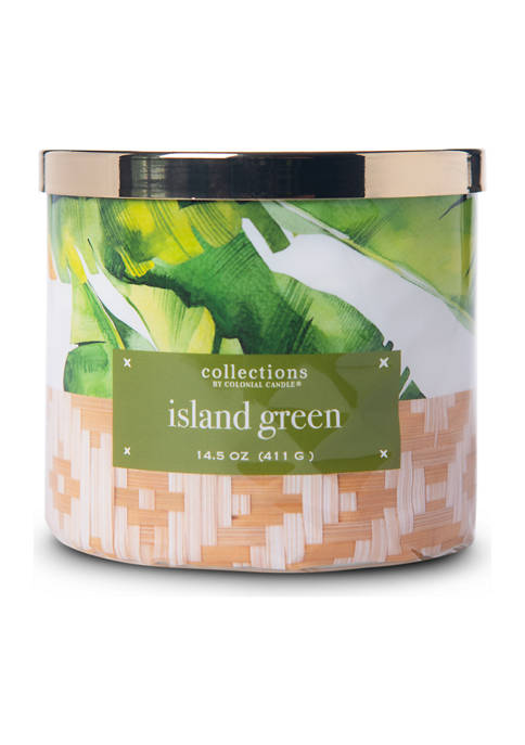 Colonial Candle® Island Green 14.5 Ounce Candle