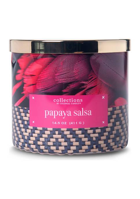 Papaya Salsa 14.5 Ounce Candle