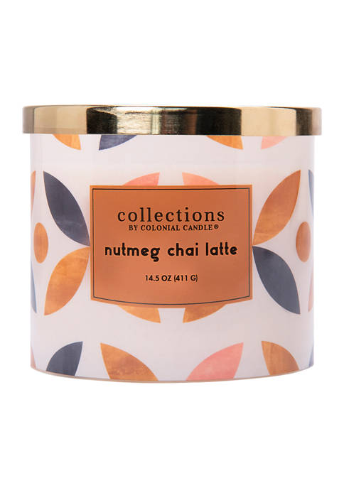 Colonial Candle® Collections Nutmeg Chai Latte Candle