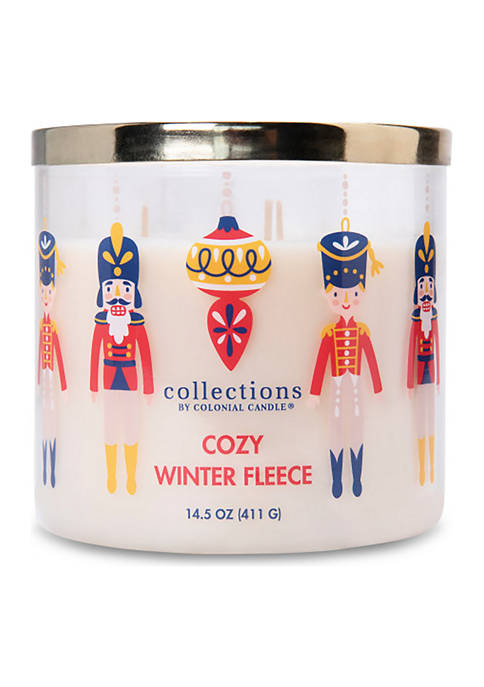 Colonial Candle® Collections Cozy Winter Fleece Candle