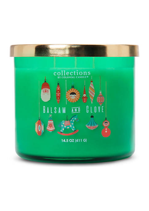 Colonial Candle® Collections Balsam and Clove Candle
