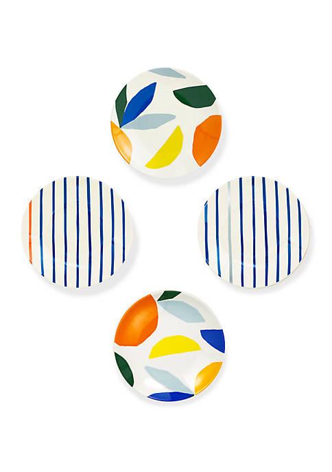 Citrus Twist Tidbit Plates