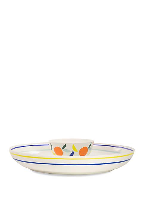 Citrus Twist Chip and Dip Bowl