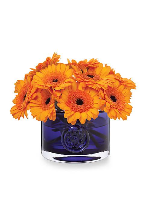 Amethyst Flower Bowl