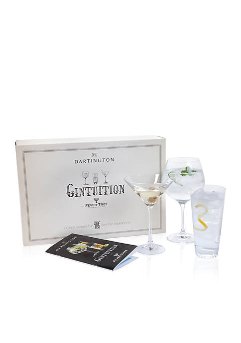 Dartington Crystal Gintuition Set