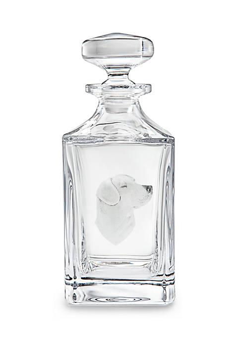 Royal Brierley® RB Engraved Decanter Labrador
